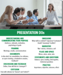 Skills in Presentations, Toolbox and Inductions
