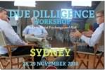 Due Diligence Workshops Oversubscribed