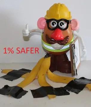 1% Safer