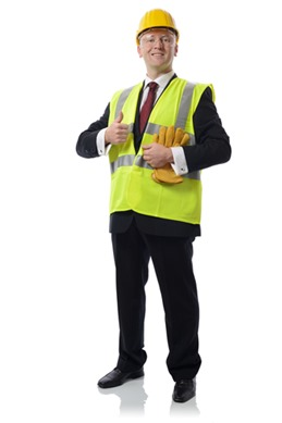 health and safety man