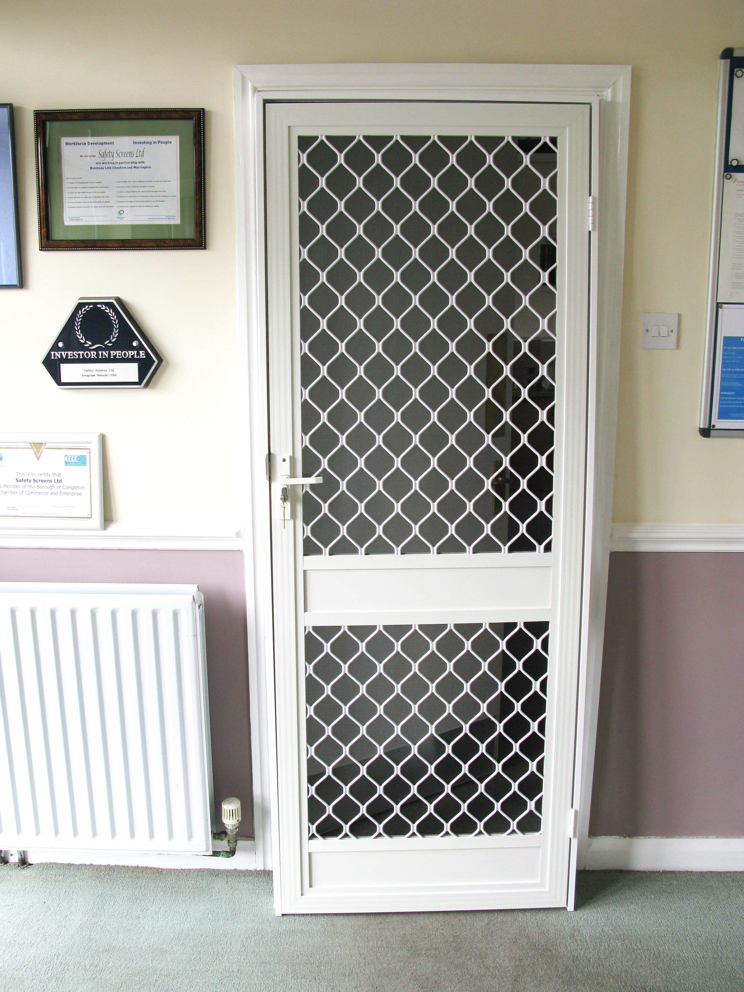 fly screen security doors safety