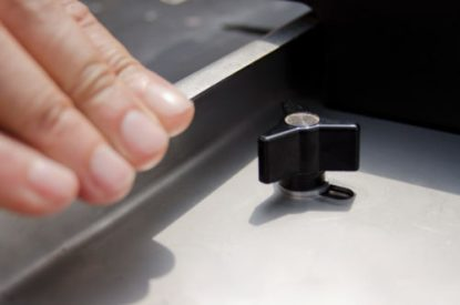 Fence Adjustment on screw pocket jig