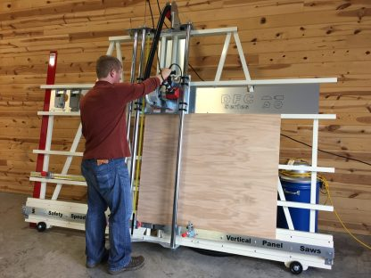 panel saw and sign cutter with v grooving, ACM, and acrylic scoring capabilities