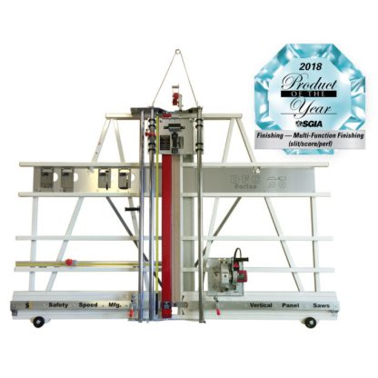 vertical panel saw and substrate cutter combination machine