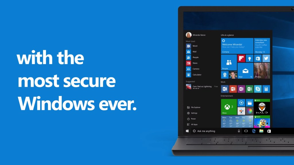 sourced from :http://www.winbeta.org/news/microsoft-claims-windows-10-most-secure-windows-ever