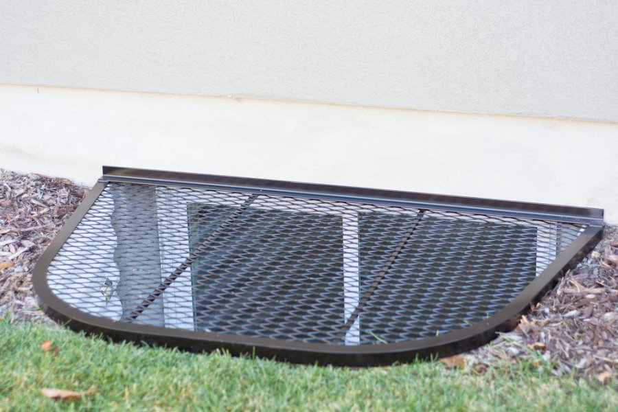 Wire Mesh Window Well Covers in Utah County - Safewell