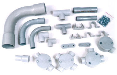 Installation of PVC Conduits & Fittings