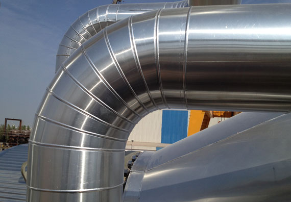Method Statement For Installation Of GI Cladding For HVAC Ductwork & Pipework
