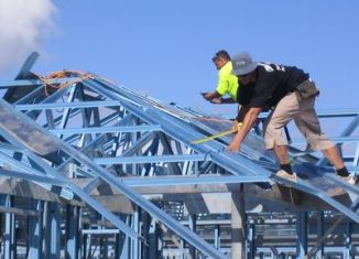 SWMS Roof Steel Truss Installation