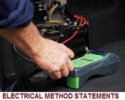 electrical method statement