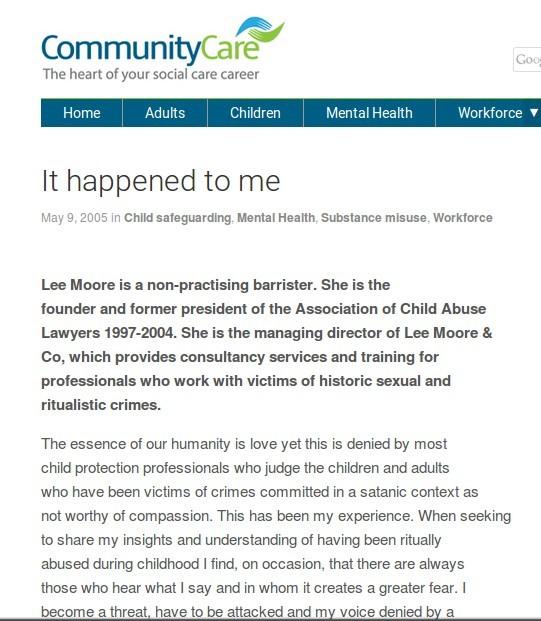 Community Care SRA scaremongers