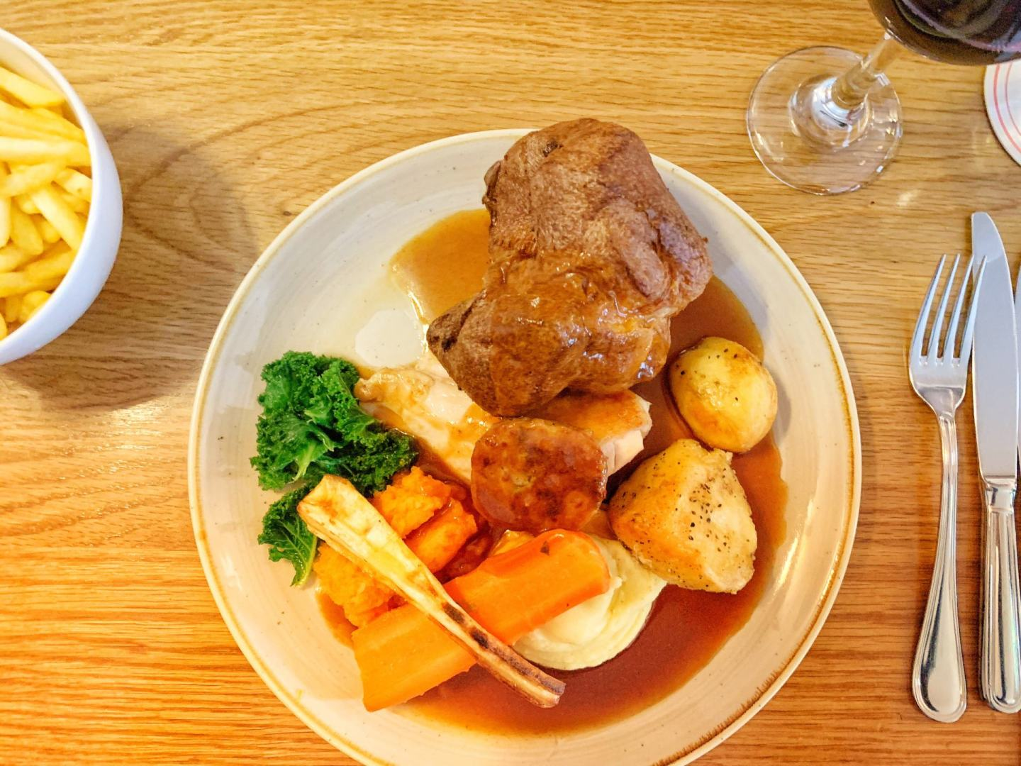 One of the best Sunday lunches in the North East at St Mary's Inn, Stannington