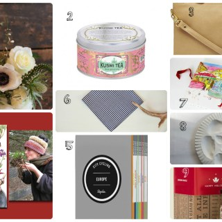 {Holiday Gift Guide 2014!} presents for foodies & travelers