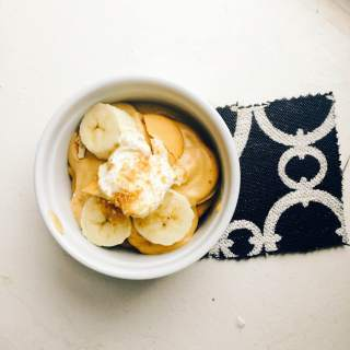 Banana butterscotch pudding for the masses