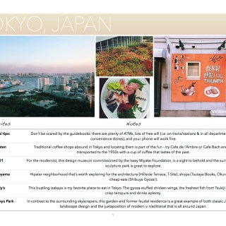 Guide to Tokyo, Japan