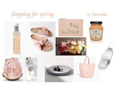 Shopping for Spring