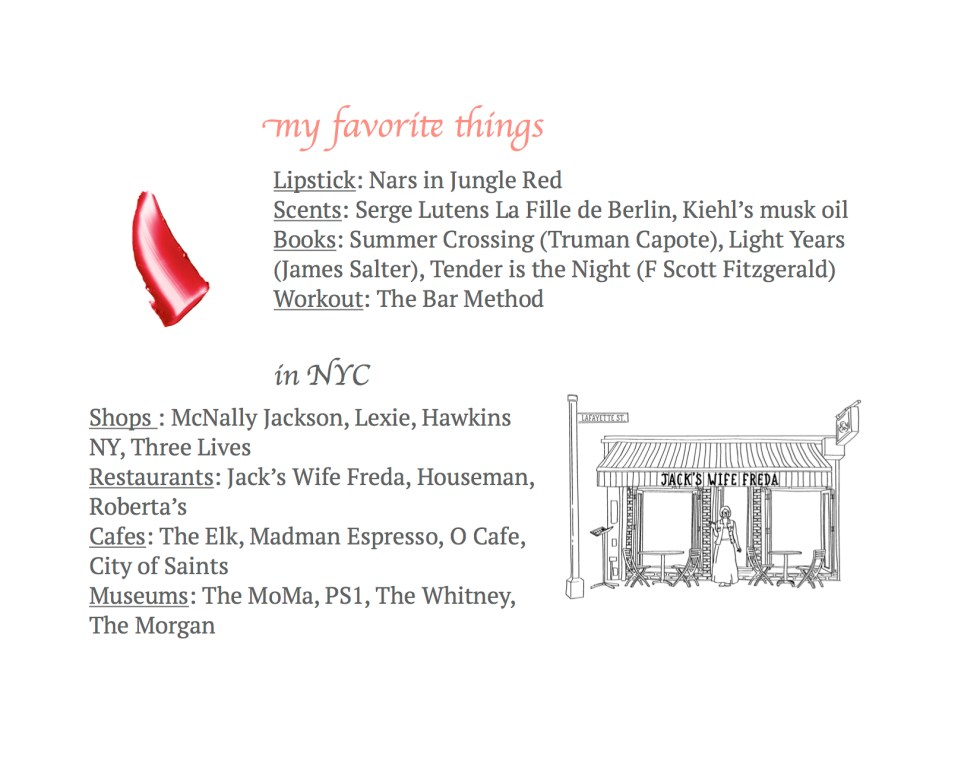 favorite places NYC
