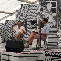 Mark Hix at The Orangery, Port Eliot Festival 2014 and chicken with feet