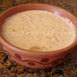 Bengali nolen gurer payesh / rice pudding with date jaggery