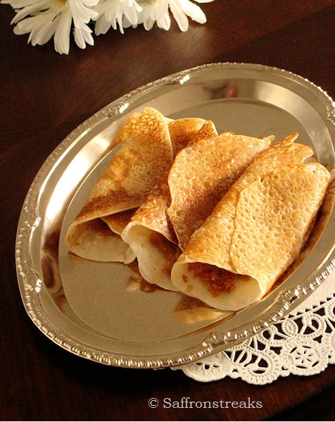 patishapta rice crepes