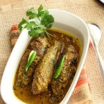 Tel Koi or koi fish in mustard oil