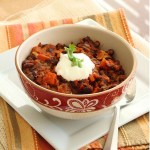 Mexican black bean chili and retrospect 2012
