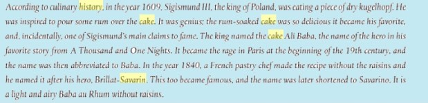 savarin history