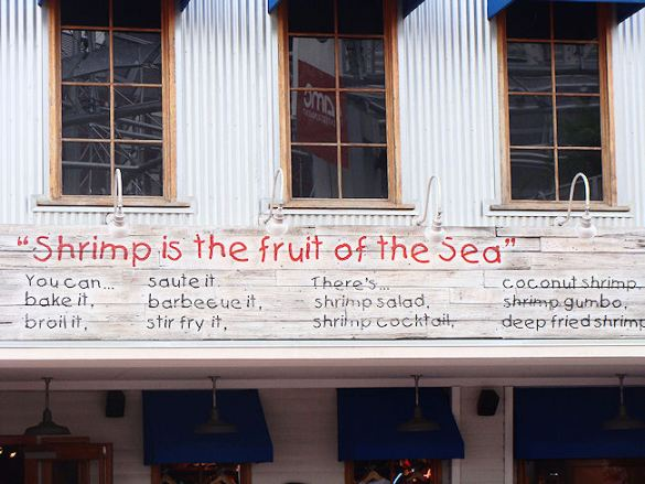 bubba gump shrimp