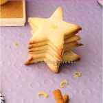 Summer lemon star cookies and a winner