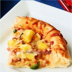 Pizza pineaaple barbecue