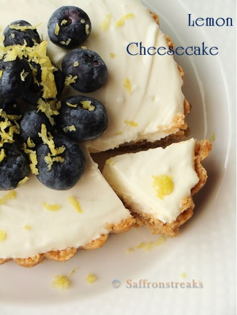 lemon cheesecake recipe