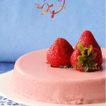 Strawberry yogurt cake – no bake chilled summer dessert