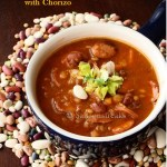 16 bean soup stew chorizo