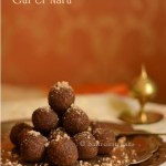 Gur'er naru / Coconut and jaggery sweet confection balls