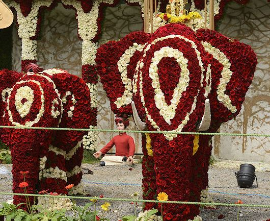 lal bagh flower show
