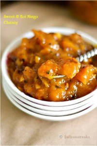 indian ripe mango chutney