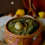 Gota sheddho / casserole of whole lentils and boiled whole vegetables – traditions reinvented