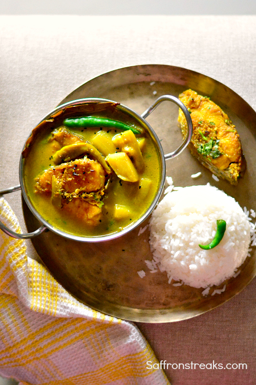 macher jhol fish stew babies