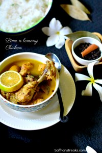 lime lemon chicken curry recipe