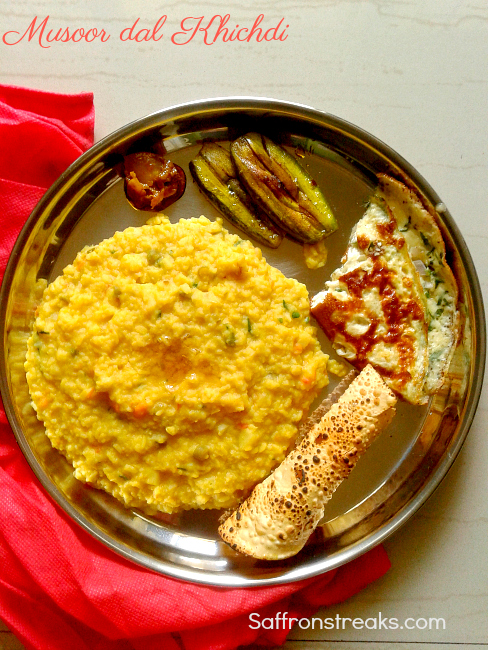Bengali masoor dal red lentils khichdi khichuri for rainy days bengali musoor dal khichdi forumfinder Image collections
