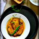 Chitol Macher Kalia (Fish Curry) & Festive Bengali Meal Platter / Thali