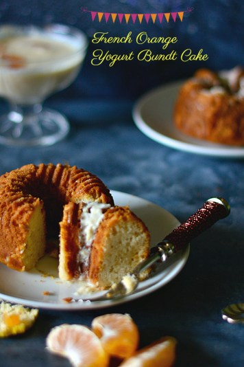 french orange yogurt bundt cake