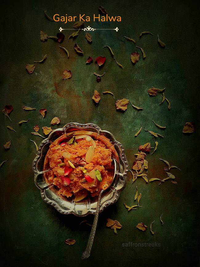 Gajar Ka Halwa / Indian Carrot Fudge Recipe - A Winter Special
