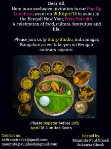 poila baisakh 2018 pop up lunch invitation