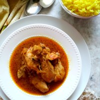 Country Captain Chicken Curry - An Anglo Indian Recipe from History
