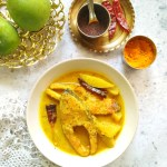 Bengali Fish Curry With Green Mango, Mustard And Coconut