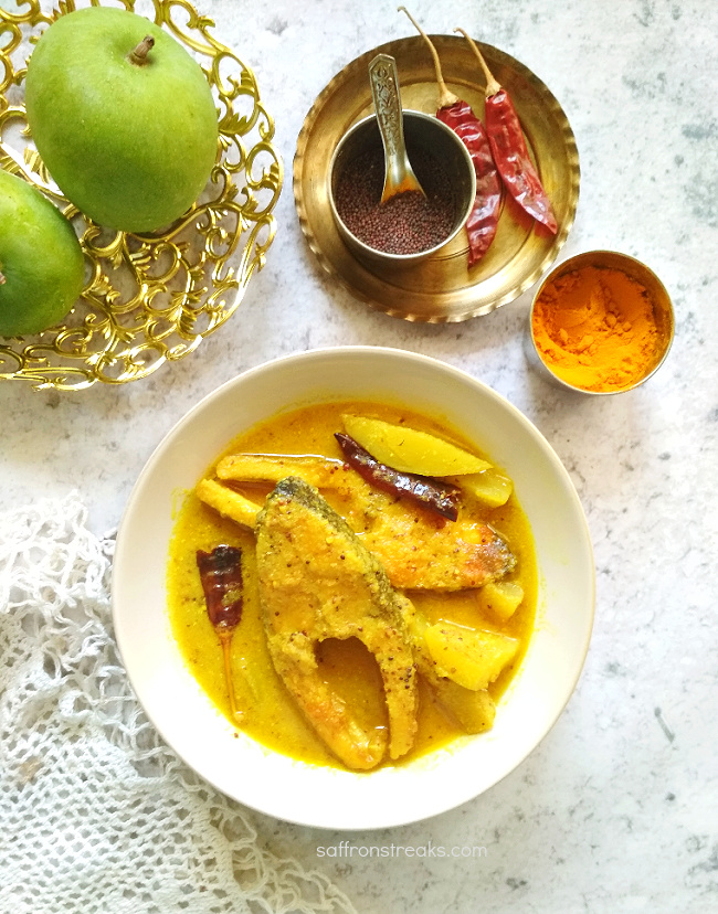 fish curry with green mango