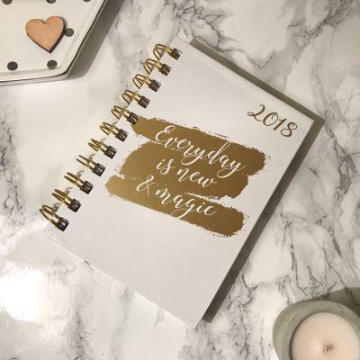 2018 diary gold saffy dixon