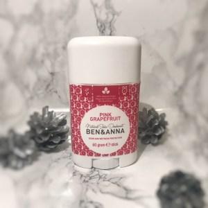 Ben & Anna's Grapefruit Deodorant - The review