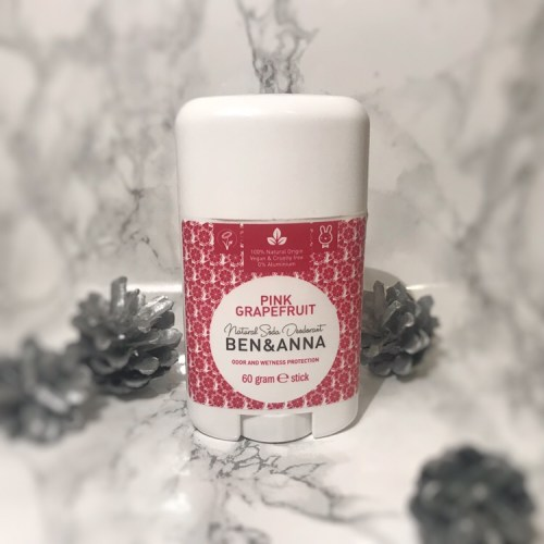 ben and anna's natural soda pink grapefruit deodorant review